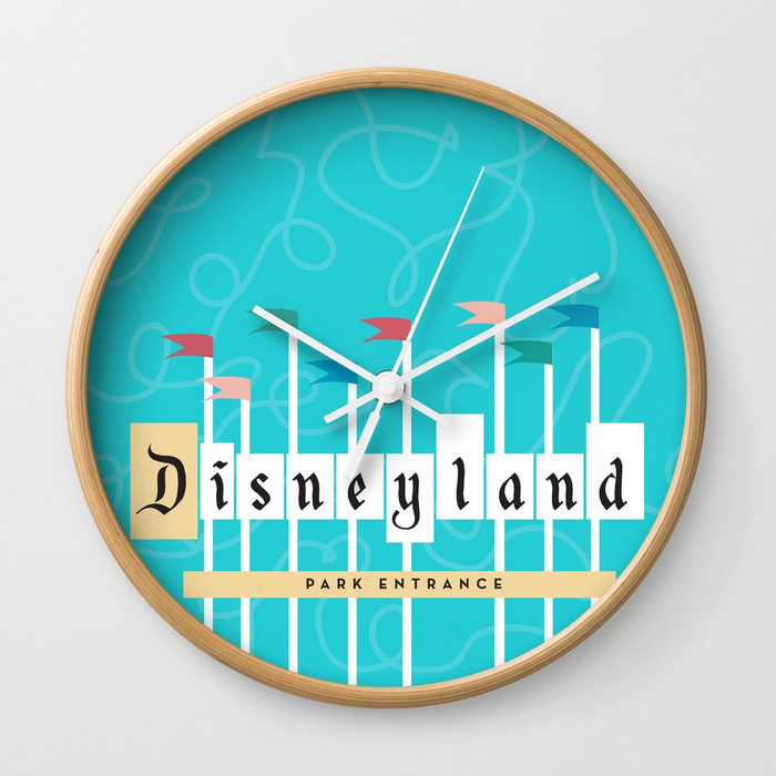 park-entrance--disney-inspired-wall-clocks